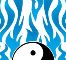 Yin Yang T-Shirt Sticker