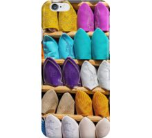 Babouches, Moroccan footwear. iPhone Case/Skin