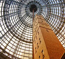 Melbourne Shot Tower by Judith Cahill