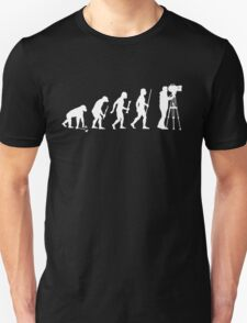 Evolution Of Cameraman T-Shirt