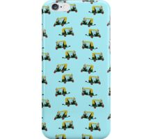 Auto rickshaw wallpaper iPhone Case/Skin