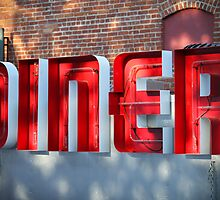 Red Diner by littleoldhag