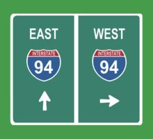 DETROIT: INTERSTATE 94 EAST | WEST by SOL  SKETCHES™