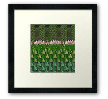 Frog Pond - PhotoShop Version Framed Print