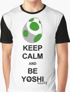 Keep calm and be Yoshi Graphic T-Shirt