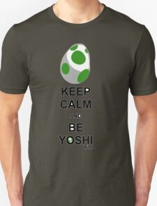 Keep calm and be Yoshi Unisex T-Shirt