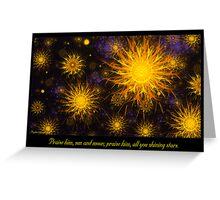 Shining Stars Greeting Card
