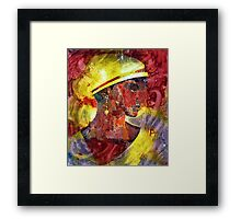 The Lady on Dargan Street Framed Print