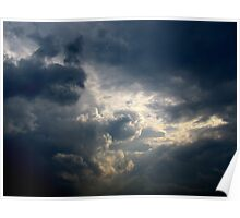 Storm Clouds, New York City Poster