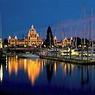 Dusk at the Inner Harbour by Photo-Bob