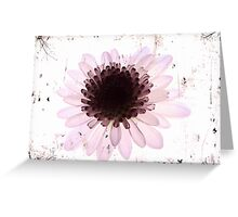 Floral virtue Greeting Card