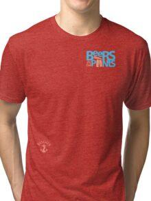 BeersinthePants corner guy Tri-blend T-Shirt