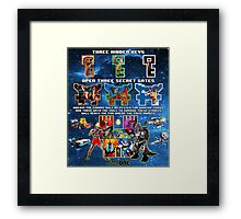 Anorak's Invitation - Ready Player One (ULTIMATE FANBOY EDITION) Framed Print