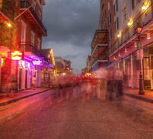 Ghosts on Main Street by Benjamin Curtis