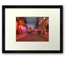 Ghosts on Main Street Framed Print