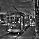 New Orleans Street Car by Benjamin Curtis