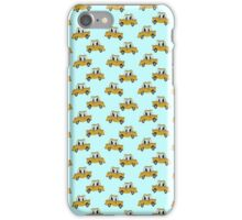 New York city cab wallpaper iPhone Case/Skin