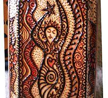 Henna Goddess by StarlitSkiesArt