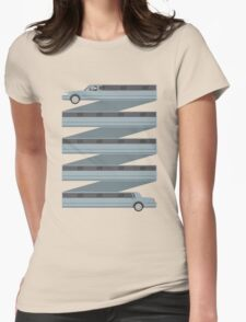 Stretched Out Limo Womens Fitted T-Shirt