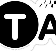 XII Taxi Sticker