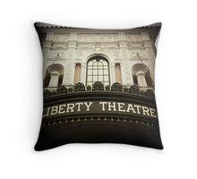 Liberty Theatre (Astoria #1) Throw Pillow