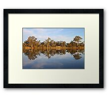 River Murray Reflections Framed Print