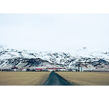 Icelandic Farm Photographic Print