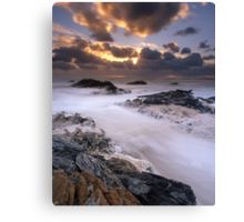 """Edge of the World"" ∞ Arthur River, Tasmania - Australia Canvas Print"