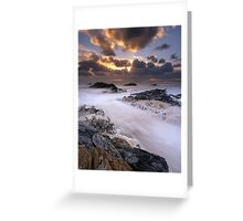 """Edge of the World"" ∞ Arthur River, Tasmania - Australia Greeting Card"