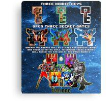 Anorak's Invitation (Version 2) - Ready Player One Metal Print