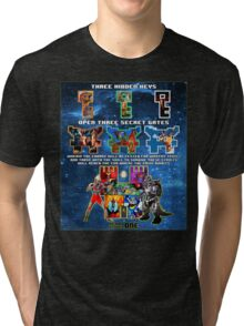 Anorak's Invitation (Version 2) - Ready Player One Tri-blend T-Shirt