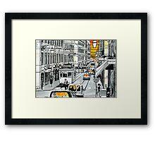 Splash Cities - Lisboa Framed Print