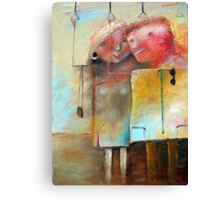 Casual Acquaintance Canvas Print
