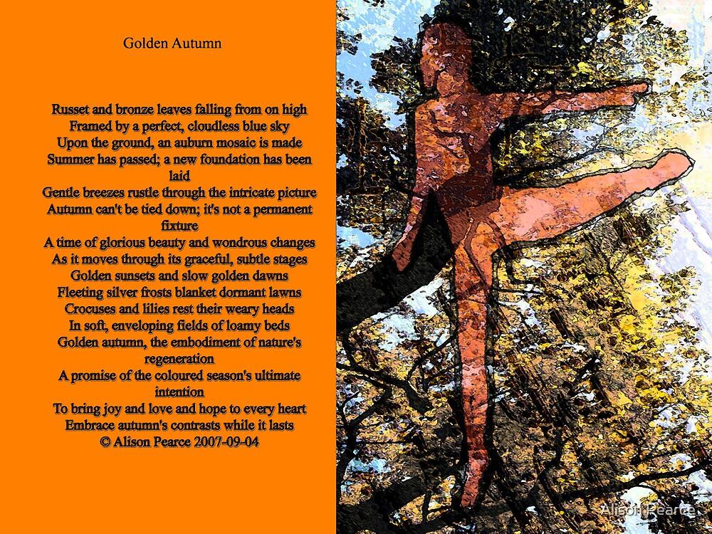 Golden Autumn by Alison Pearce