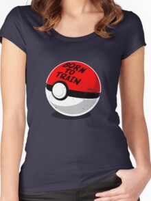 Full Metal Trainer- Pokemon Shirt Women's Fitted Scoop T-Shirt