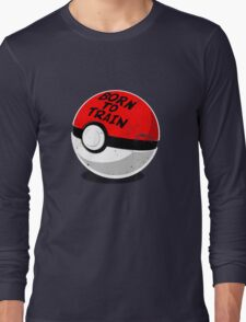 Full Metal Trainer- Pokemon Shirt Long Sleeve T-Shirt