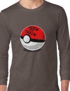 Full Metal Trainer- Pokemon Shirt Long Sleeve T-Shirt