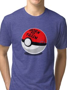 Full Metal Trainer- Pokemon Shirt Tri-blend T-Shirt