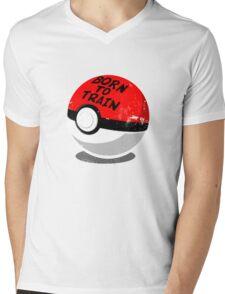 Full Metal Trainer- Pokemon Shirt Mens V-Neck T-Shirt