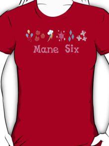 Mane Six (pink) T-Shirt
