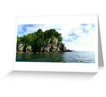 Island Greeting Card