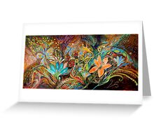 The Dance of Lizards Greeting Card