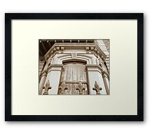 Botanic Terraces Framed Print