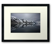 Unique Reflections Framed Print