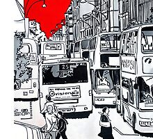 Splash Cities - London 01 by Daniel Moyano