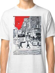 Splash Cities - London 01 Classic T-Shirt