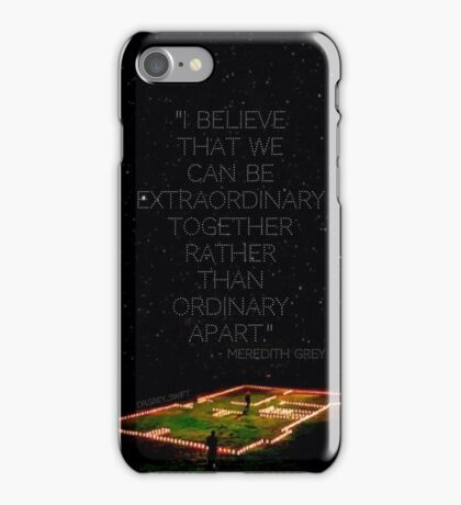 MerDer - House of Candles - Grey's Anatomy - phone case iPhone Case/Skin
