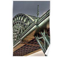 HDR Tyne Bridge Poster