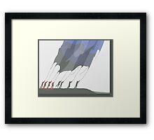 bag of winds Framed Print