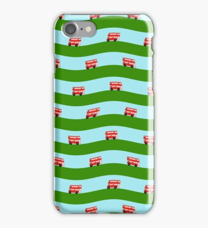 Double decker bus iPhone Case/Skin